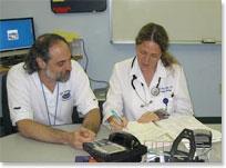 Preceptor and Family Medicine Resident