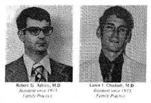Family Medicine Residency Class of 1975