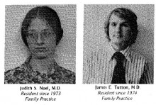 Family Medicine Residency Class of 1976