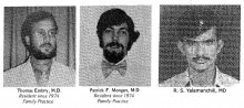 Family Medicine Residency Class of 1977