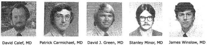 Family Medicine Residency Class of 1978