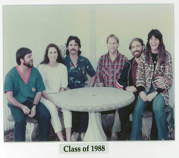 Family Medicine Residency Class of 1988