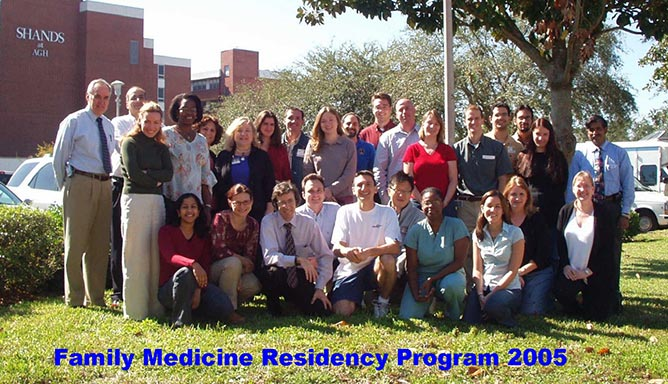Family Medicine Residency Class of 2005