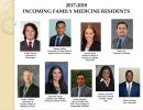 Welcome 2017-2018 Family Medicine Residents
