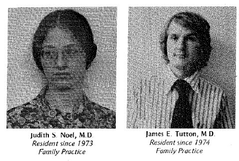 Family Medicine Residency Class of 1976