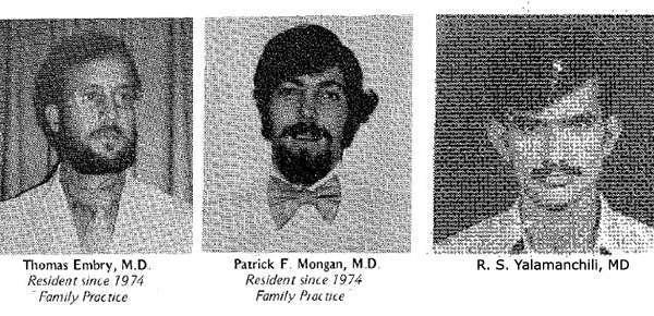 UF Family Medicine Residency Graduates 1977