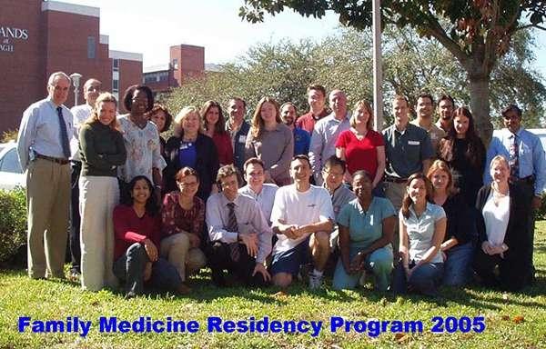 UF Family Medicine Residency Graduates 2005