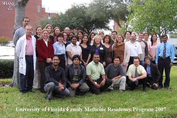 UF Family Medicine Residency Graduates 2007