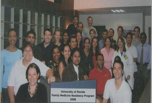 UF Family Medicine Residency Graduates 2008