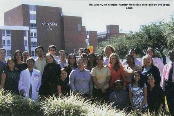 UF Family Medicine Residency Graduates 2009