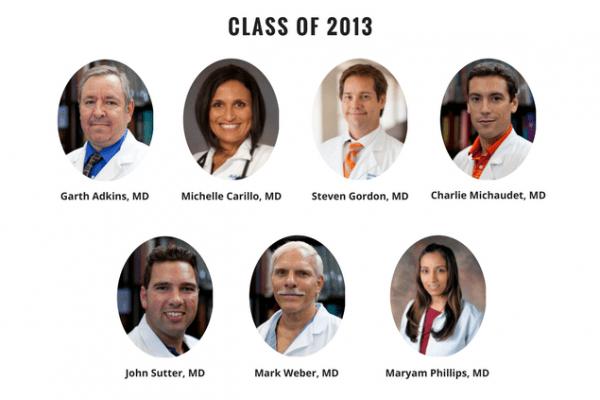 UF Family Medicine Residency Graduates 2013