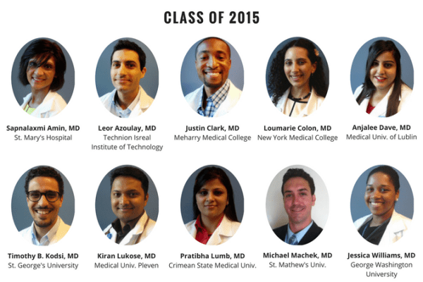 UF Family Medicine Residency Graduates 2015