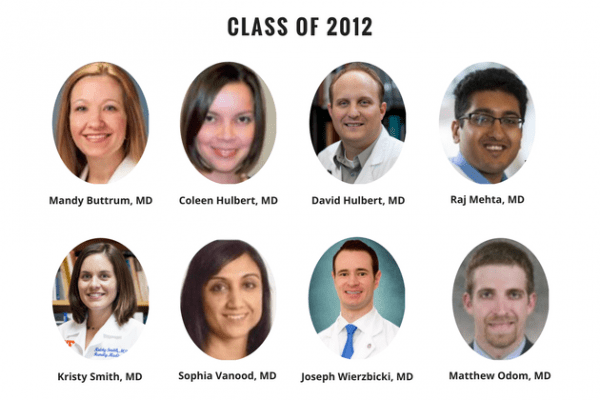 UF Family Medicine Residency Graduates 2012