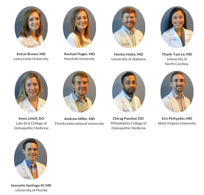 UF Family Medicine Residents » Community Health & Family