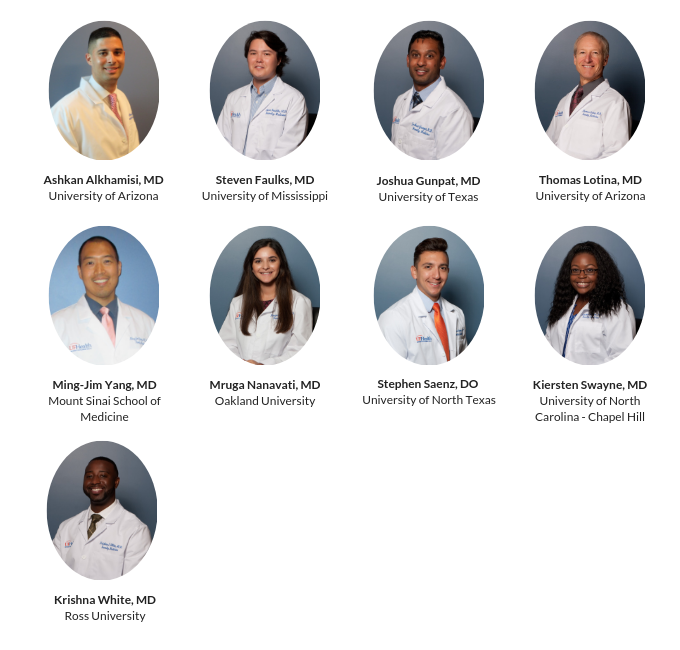 Uf Calendar 2020.Uf Family Medicine Residents Community Health Family Medicine