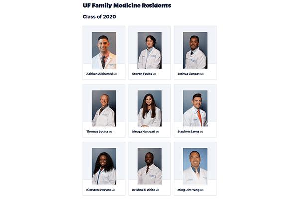 Family Medicine Class of 2020