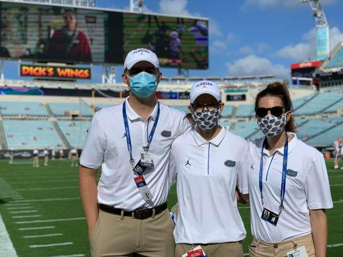 UF Sports Medicine Fellows at Florida - Georgia